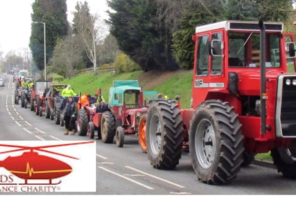 Shropshire's 22nd Annual Vintage Tractor Road Run