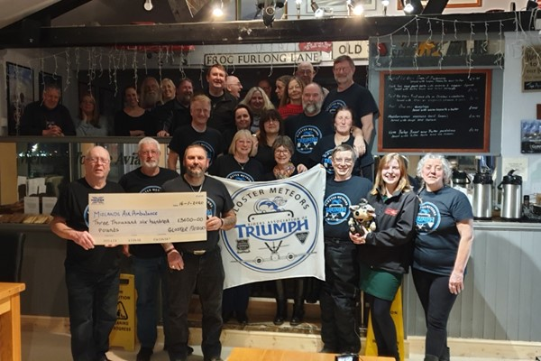 Gloster Meteors Donate Big For Local Charity