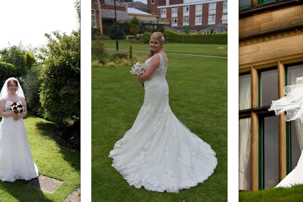 Wedding Dress Walk Helps Save Lives
