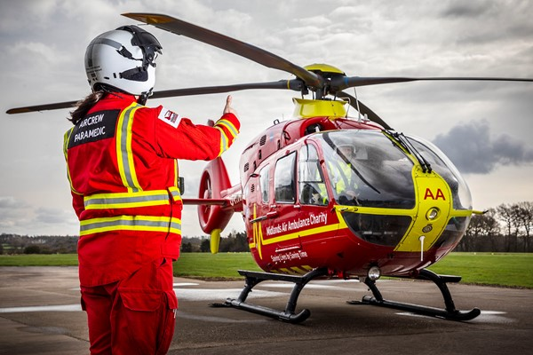 Midlands Air Ambulance Strengthens Ties In The Business Community