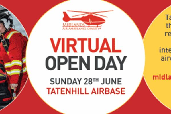 Take A Virtual Tour Of Charity's Tatenhill Airbase