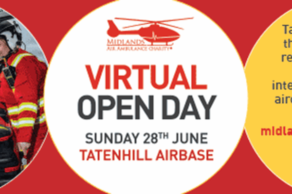 Take A Virtual Tour Of Charity's Tatenhill Airbase