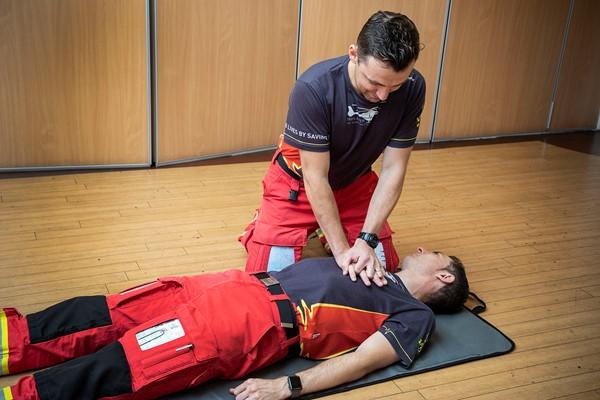 Wesleyan Lends Midlands Air Ambulance Lifesaving Support