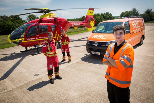 Midlands Air Ambulance Charity To Benefit From New Partnership With The RAC