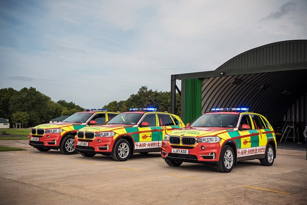 Five Missions Made Possible For Midlands Air Ambulance Charity