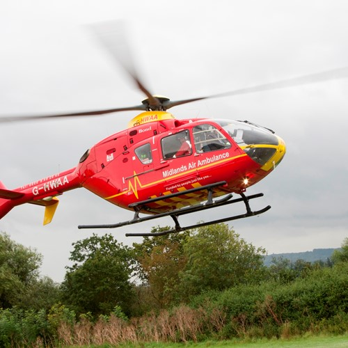 Midlands Air Ambulance Charity Launches Online Will Writing Service