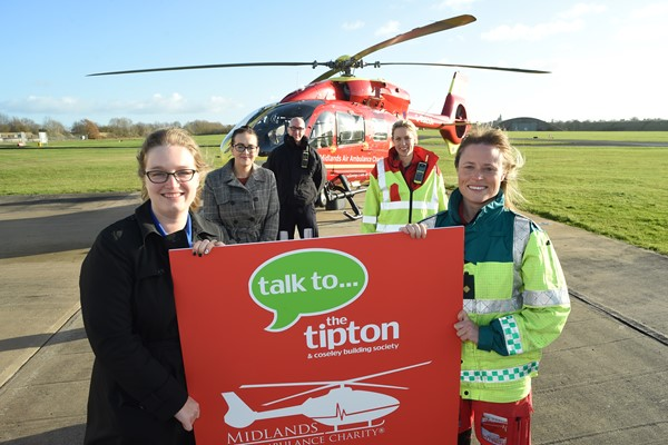 Savings Account Takes Off For Midlands Air Ambulance Charity