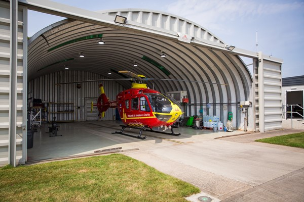 Midlands Air Ambulance Charity Online Shop Re-opens