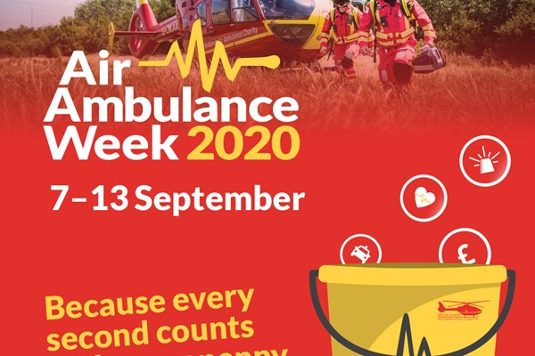 Midlands Air Ambulance Charity Is Counting On You To Help During Air Ambulance Week