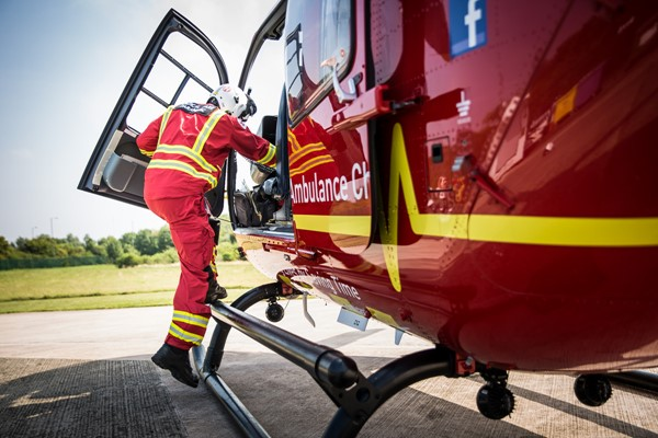 Air Ambulance Week Launches Across The Midlands