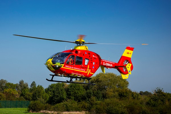 Midlands Air Ambulance Charity To Host Virtual Public Consultation For New Airbase and Charity Headquarters