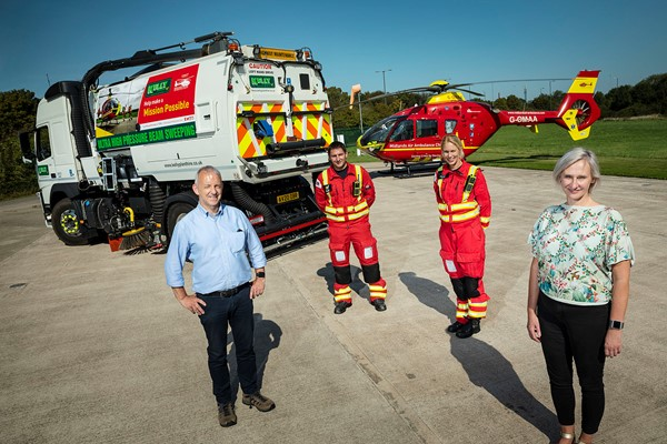 Local Firm Sweeps The Way For Lifesaving Missions