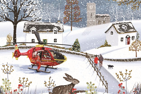 Help Make Christmas Missions Possible For Midlands Air Ambulance Charity