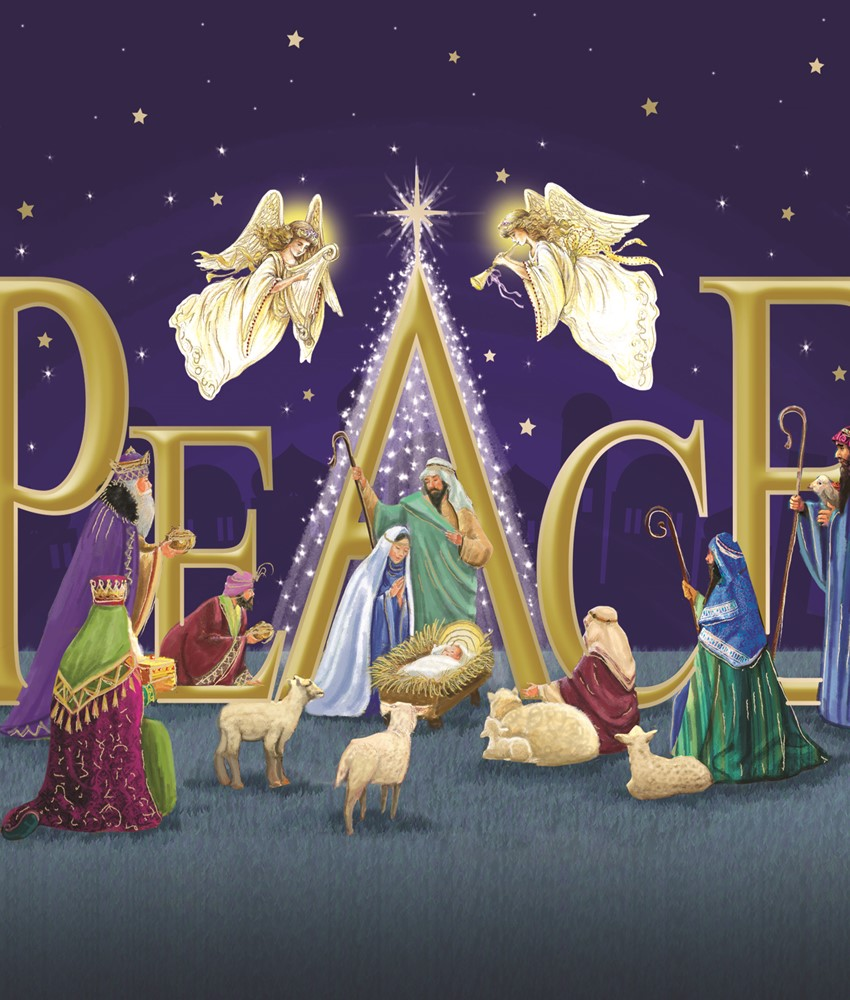 Peace and the Three Kings Christmas Cards