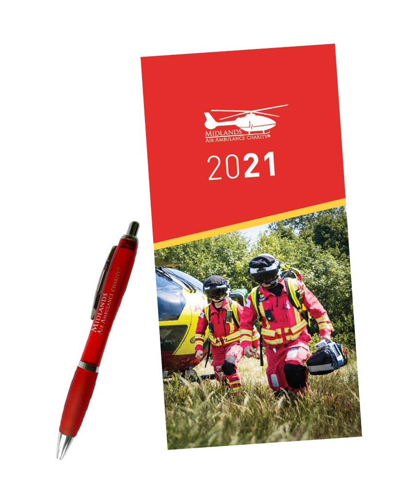 2021 Diary and Pen