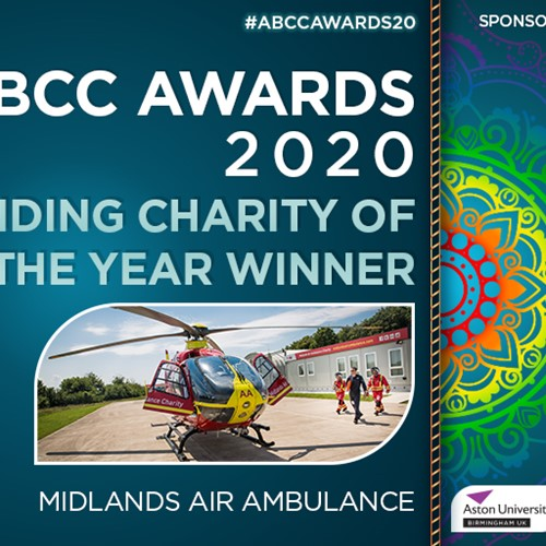 Rapid Response Midlands Air Ambulance Crowned Outstanding Charity of the Year