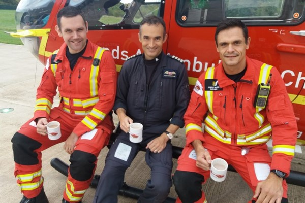Hot Chocolate To Support Lifesaving Helicopters