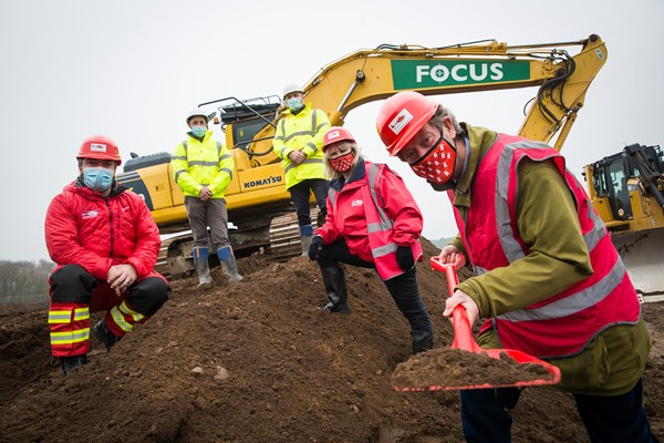 Work Begins On Midlands Air Ambulance Charity's New Airbase and Headquarters