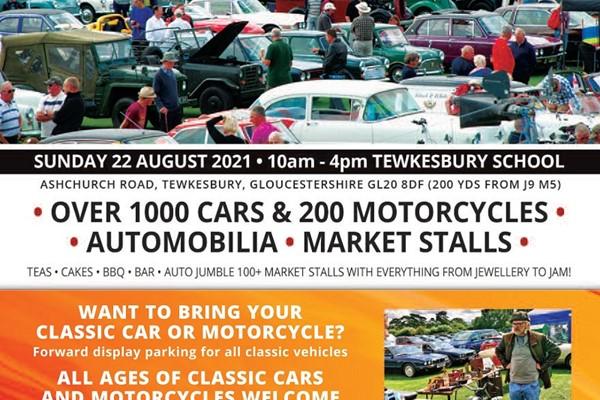 Tewkesbury Classic Vehicle Festival Sunday 22nd August