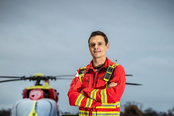 Midlands Air Ambulance Charity's Airbase Challenge Reaches Milestone