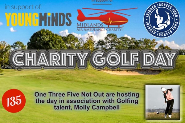 Charity Golf Day - One Three Five Not Out