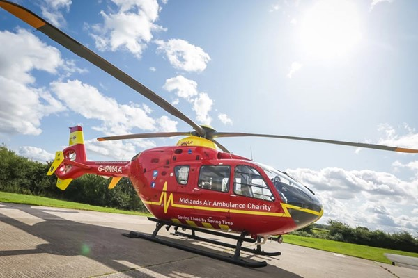 Two to Hospital Following Collision in Hagley