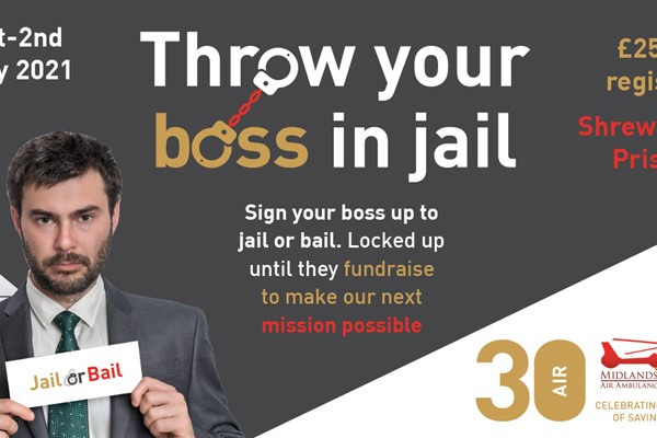 Sentence the Boss to a Night in the Clink and Help Save Lives