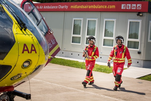 Light Up Red and Save Lives in the Midlands on Emergency Services Day