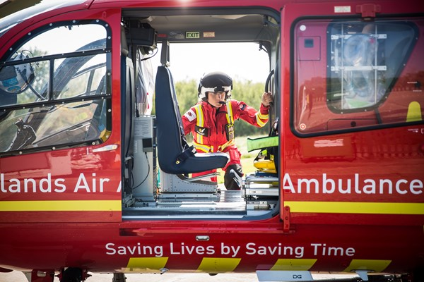Support Midlands Air Ambulance Charity Every Month